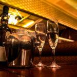 銀座らぱんグラスとボトル